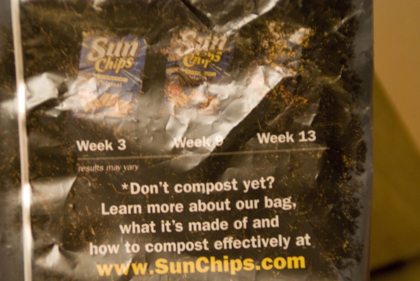 Sun Chips back of bag