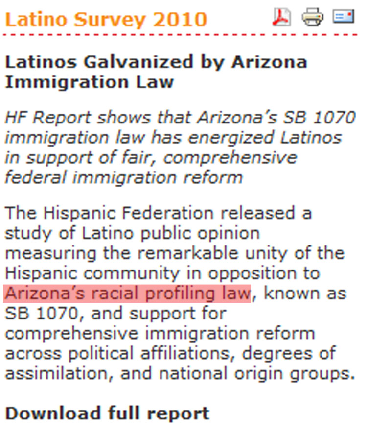 Hispanic Federation Article