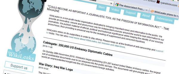 Wikileaks Header